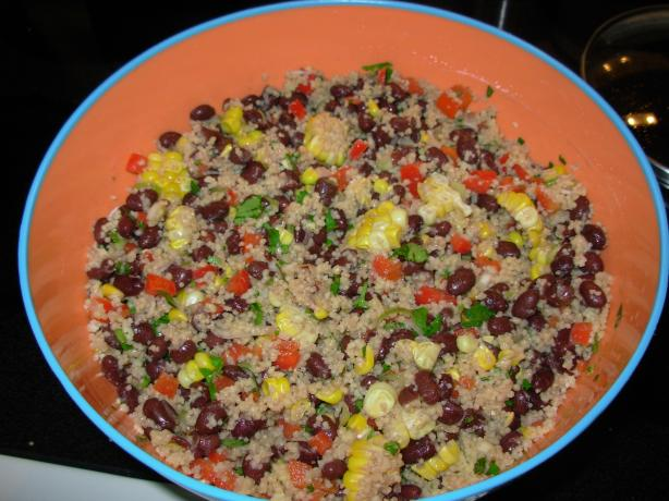 Black Bean Cous-Cous Salad