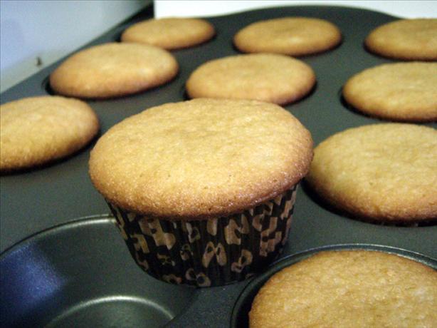 Simple White Cupcakes
