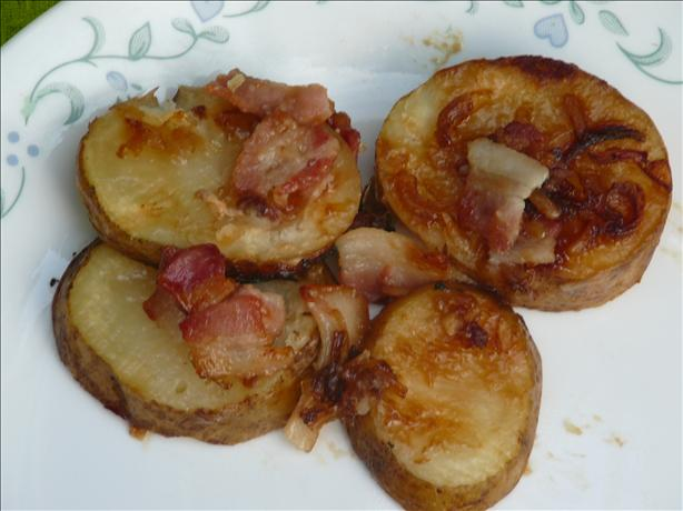 Bacon Potato Bundles