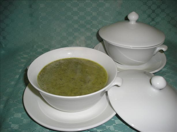 Spinach and Mascarpone Soup