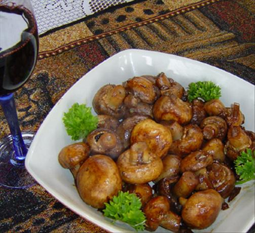 Roasted Mushrooms for a Crowd