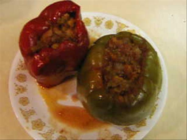 Cuban Stuffed Bell Peppers