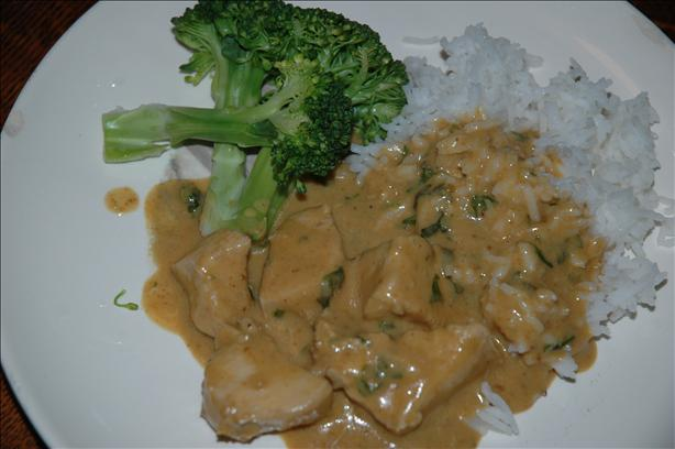 Todd's Thai-Style Chicken Curry
