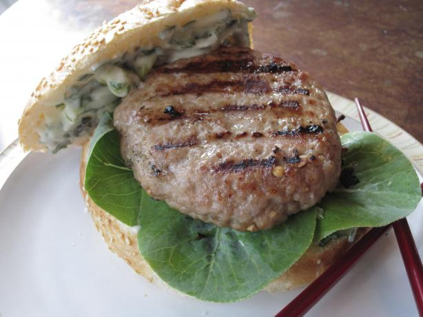 Grilled Pork Burgers Indochine