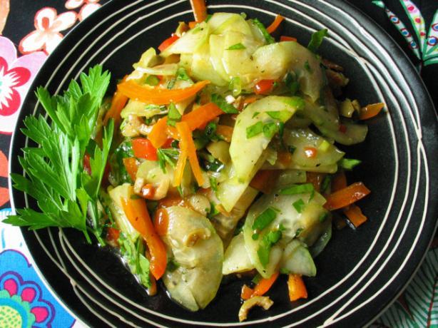 Algerian Cucumber Salad