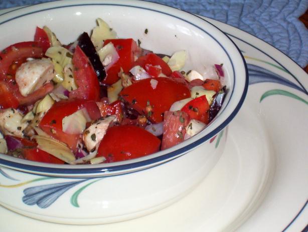 Chunky Tomato Salad