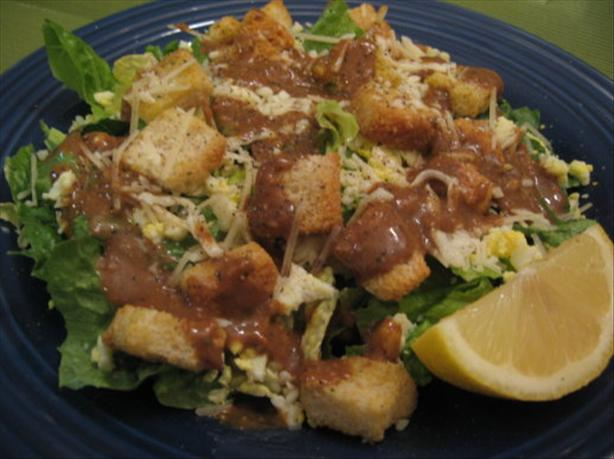 California Caesar Salad With Eggs