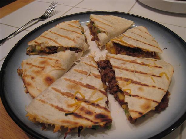 Southwestern Chorizo Quesadillas