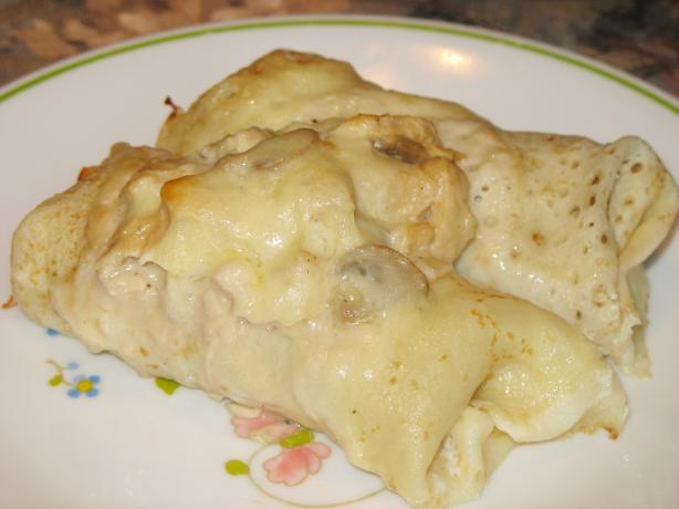 Chicken French Crêpes