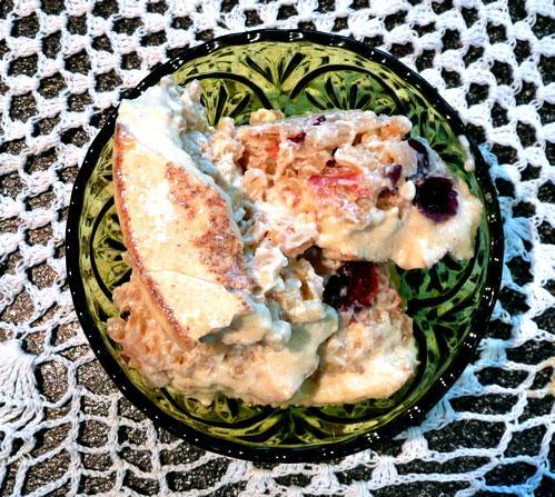 Baked Barley Pudding