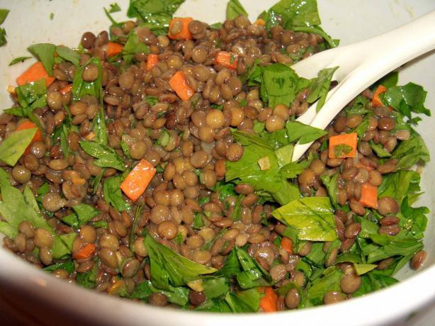 German Lentil Salad (Linsensalat)