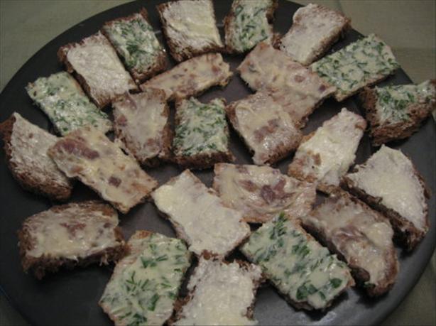 Polish Canape Butters (Polska Maslo)