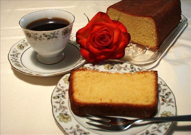 Getränkter Zitronencake (Swiss Lemon Loaf)