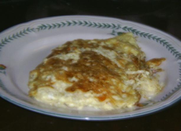 Noodle Omelette