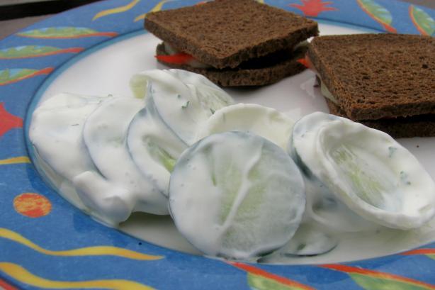 Scandinavian Cucumbers
