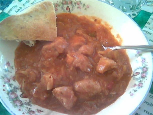 Pork and Sauerkraut Goulash
