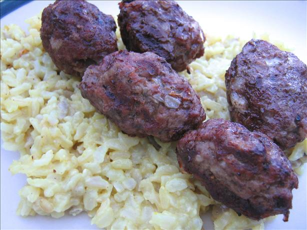 Kofta - Ground Beef Kabobs