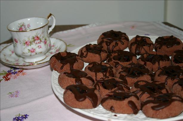 Sachertorte Cookies