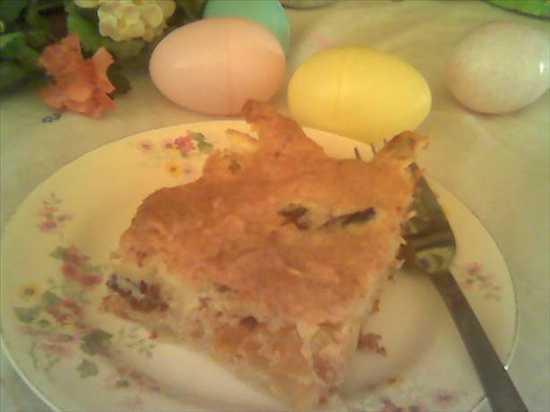Passover Fruit Casserole