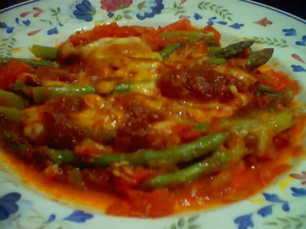 Asparagus Parmigiano