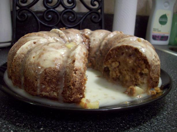 Amy's Apple Bundt Cake