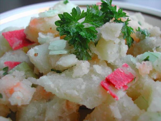 Beer Dressed Potato Salad