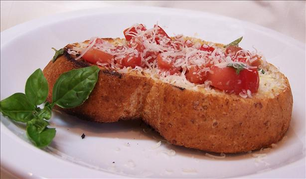Bruschetta from the Grill