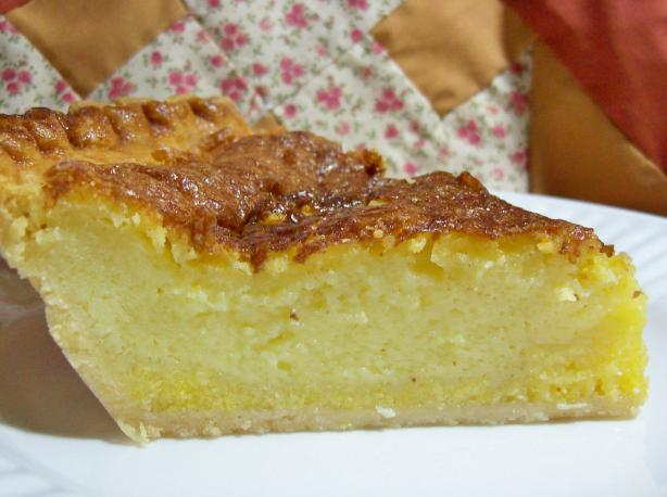 Deep-Dish Buttermilk Chess Pie