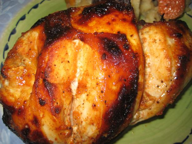 Honey-And-Spice-Glazed Chicken