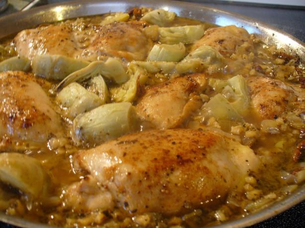 Chicken & Barley Casserole