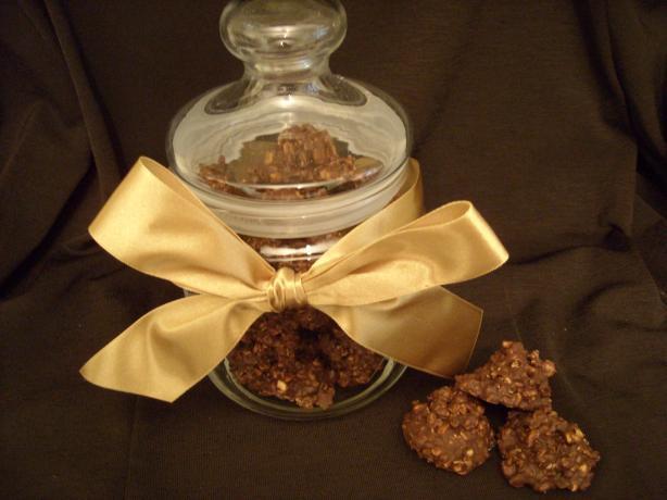 Granola Fudge Clusters