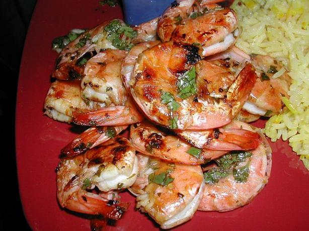 Lime and Cilantro Shrimp