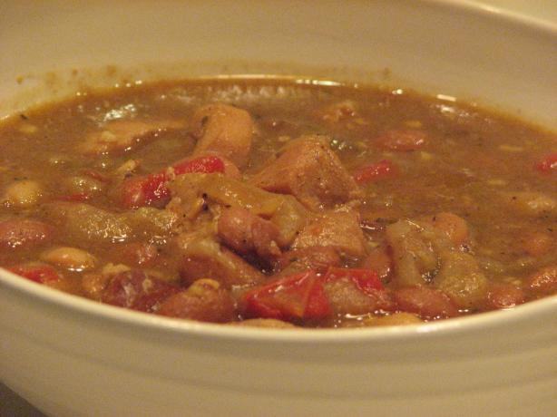 Red and White Chili
