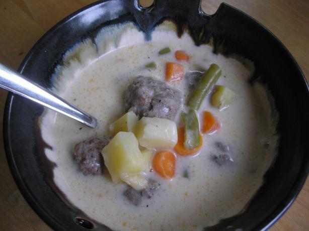 Swedish Meat Dumplings for Soup
