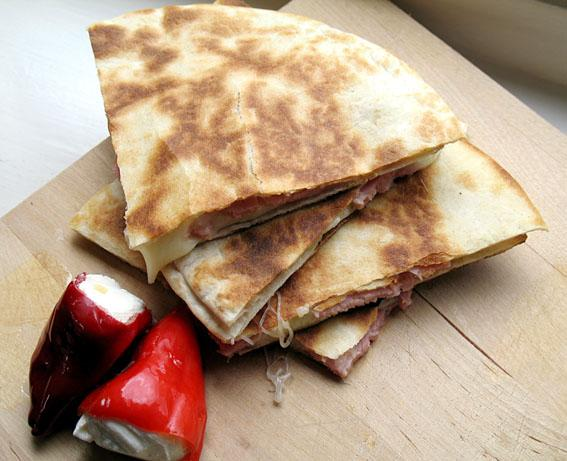 Prosciutto & Cheese Flatbreads