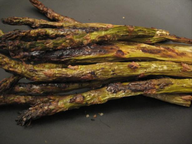 Caramelized Oven Asparagus