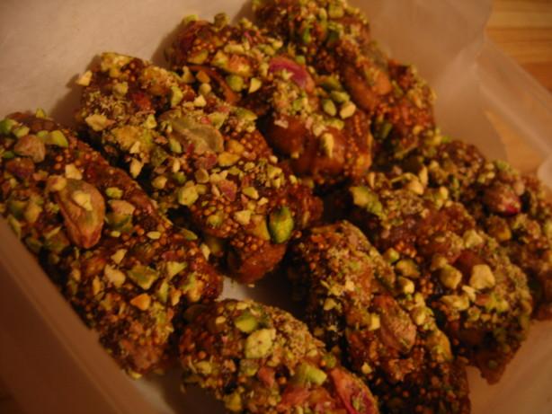 Figgy Pistachio Snack
