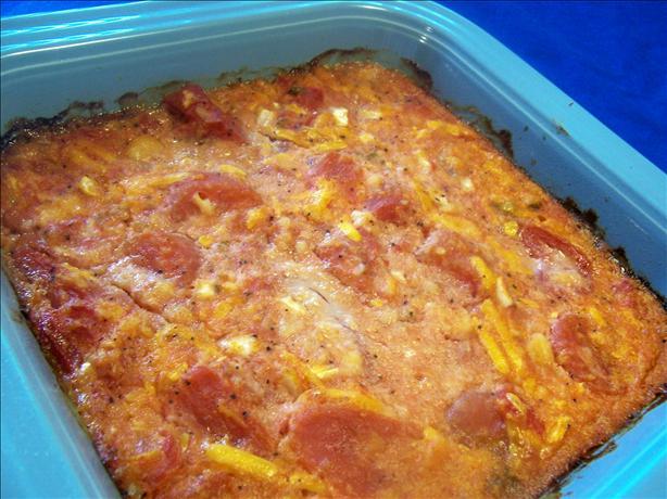 Stewed Tomato Casserole