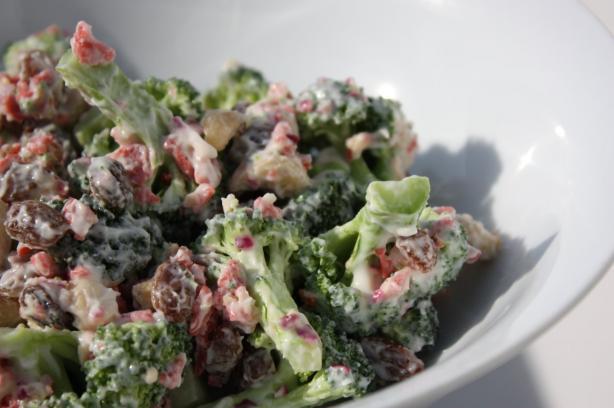 Broccoli Cashew Salad