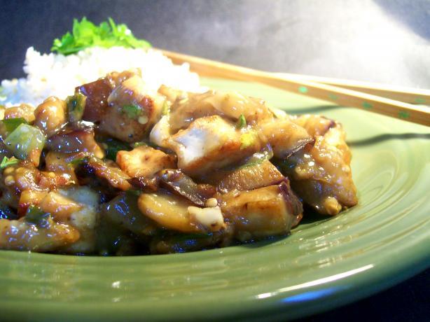 Eggplant (Aubergine) -Tofu Stir Fry