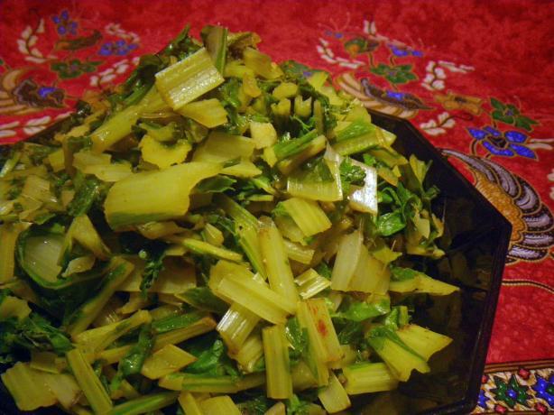 Chard Salad Morocco