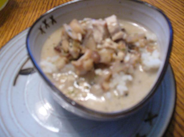 Laotian Chicken & Rice Soup