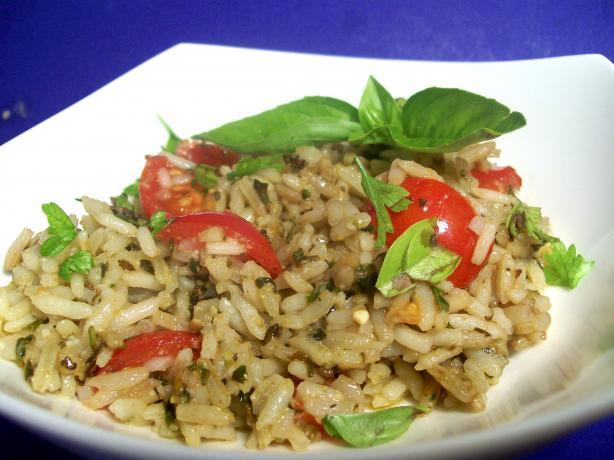 Pesto Rice