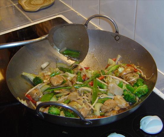 Peppered Chicken or Pork Stir Fry.
