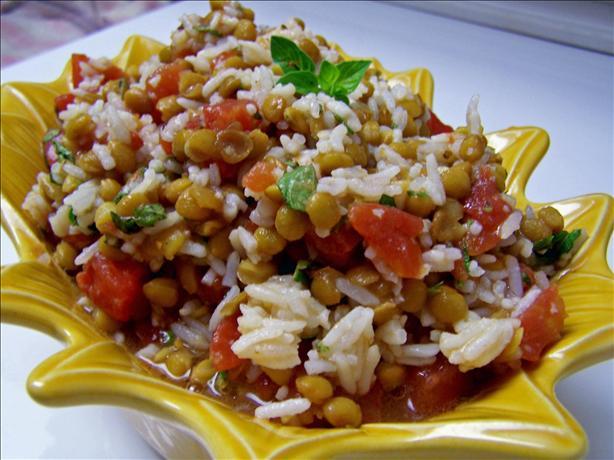 Tomato Lentil Salad