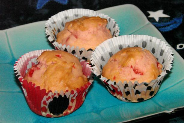 Cherry Pink Muffins