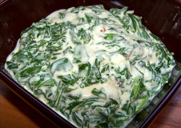 Joe's Stone Crab Garlic Creamed Spinach
