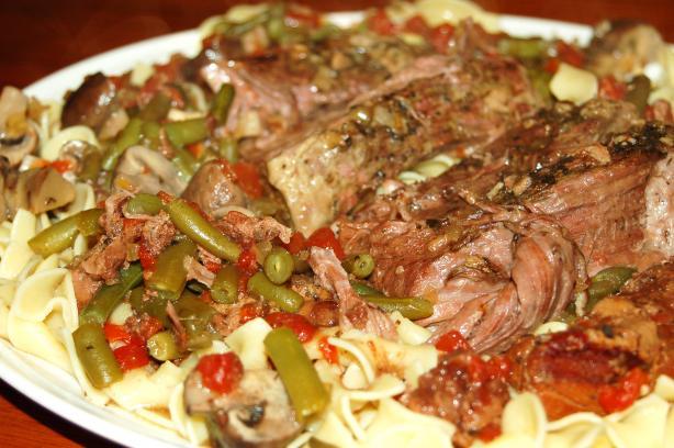 Italian Rump Roast