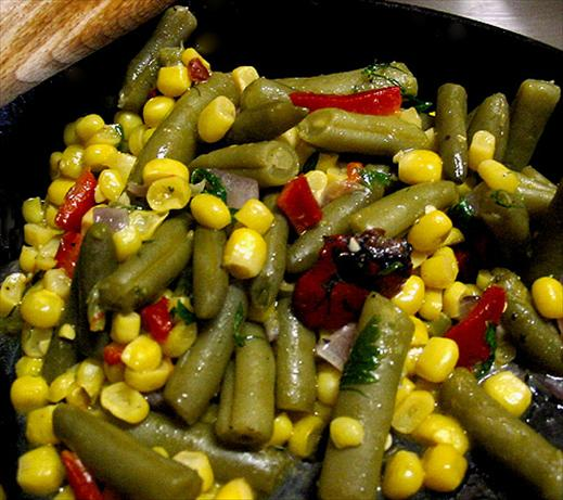 Green Beans and Sweet Corn