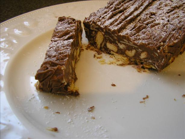 Chocolate and Nut Slice